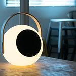 光と音を持ち運ぶ、ランタンスピーカー mooni