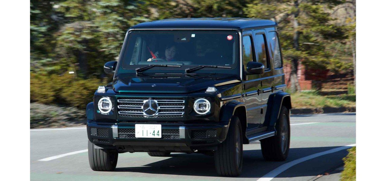 例え電動化されてもこの形だけは残してもらいたい──直6ディーゼル搭載の新型G350dに試乗|Mercedes-Benz