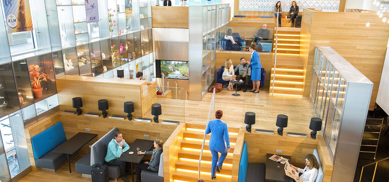 スキポール空港のKLM 非シェンゲンエリア クラウンラウンジが全面リニューアルオープン|TRAVEL