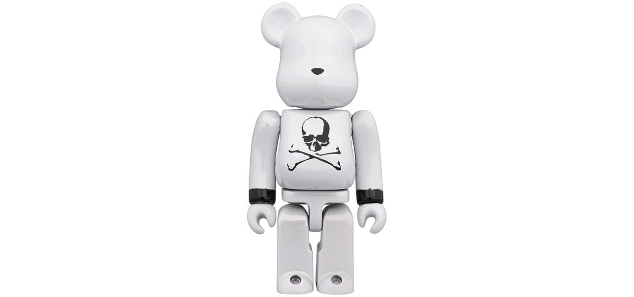 BE@RBRICK mastermind JAPAN  WHITE CHROME Ver.  100% & 400% / 1000% |MEDICOM TOY