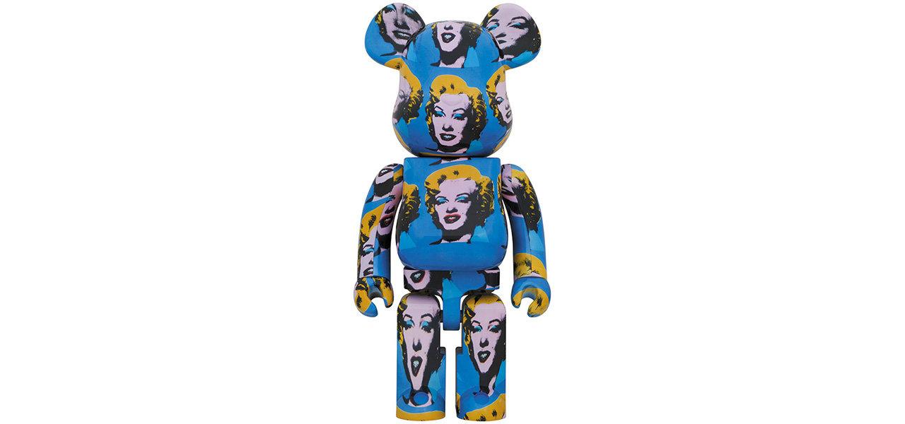 Andy Warhol's Marilyn Monroe BE@RBRICK 100% & 400% / 1000%|MEDICOM TOY