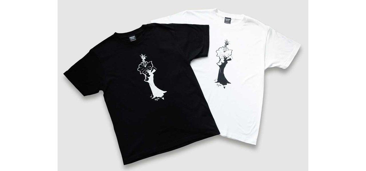 ドラァグクイーンがプリントされたTシャツ「Regine T-Shirt by Alexander Illustrations」|FASHION