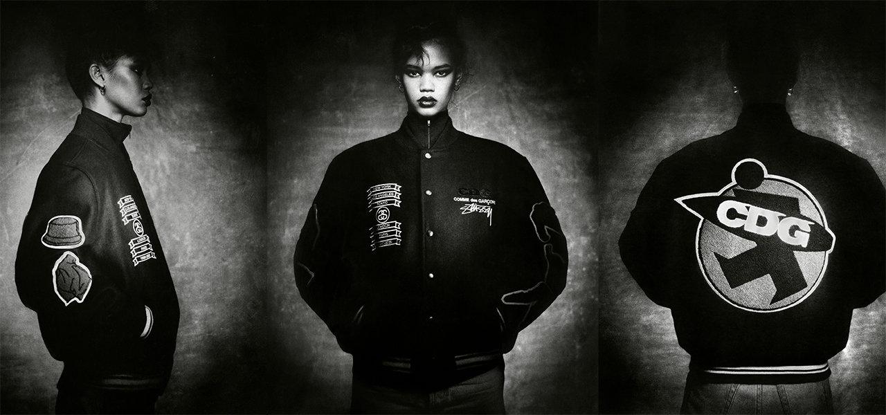 ステューシーがギャルソンとコラボしたジャケット発売|Stüssy