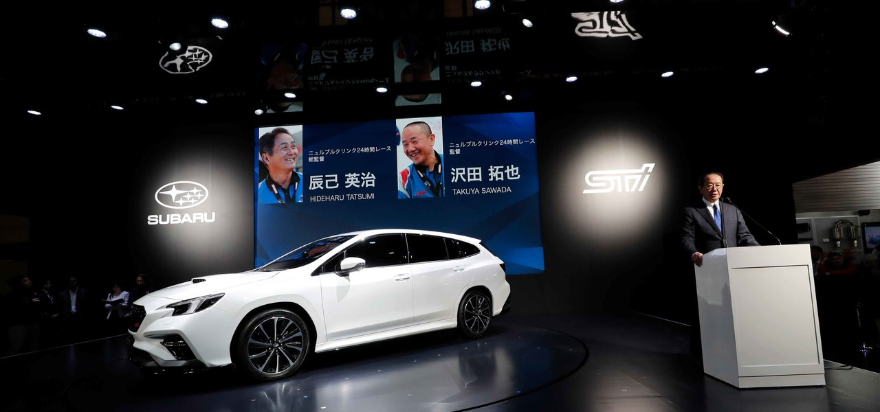 「レヴォーク プロトタイプSTIスポーツ」を東京オートサロンで初公開|Subaru