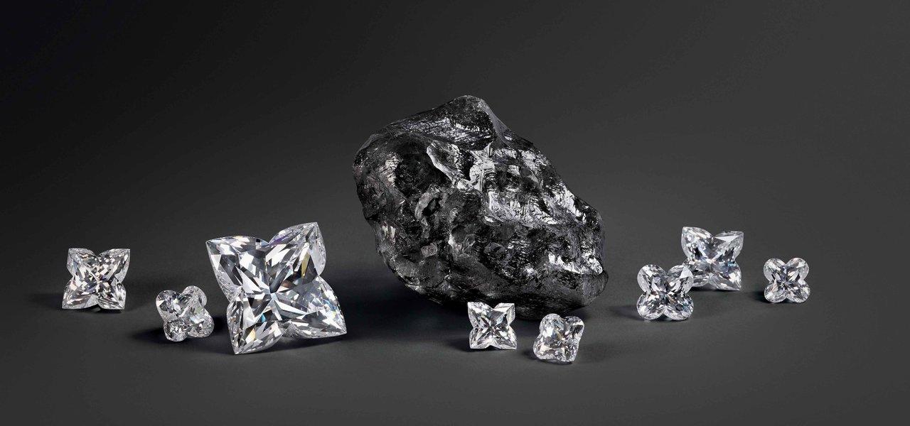 ルイ・ヴィトンが史上2番目に大きいダイヤモンド原石でジュエリー製作 LOUIS VUITTON