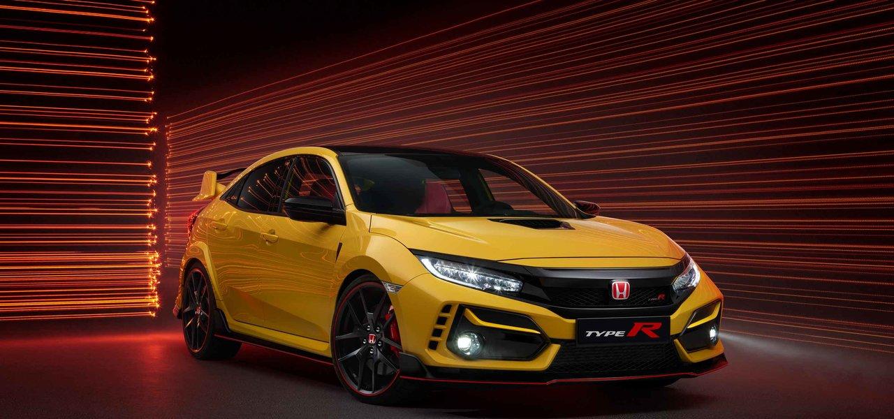 「シビック タイプR リミテッド エディション」の情報をホームページで先行公開|Honda