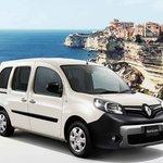 ルノー カングーに地中海のコルシカ島の景色をイメージした限定車|Renault