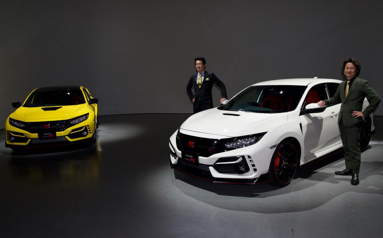 シビック タイプRがマイナーチェンジで戦闘力アップ|Honda