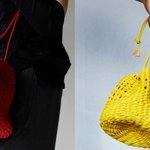 ポリエチレン製の丈夫なロープを編んで作られた巾着型のロープバッグ fourruof