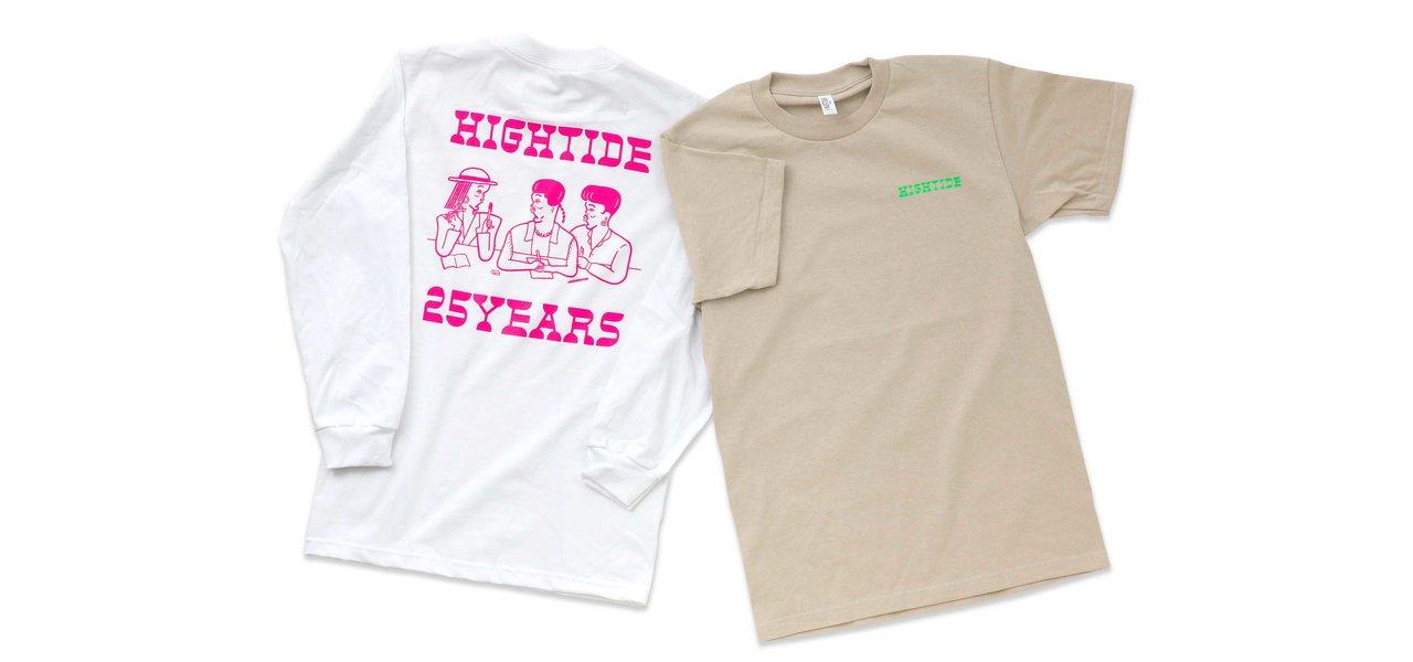 直営のONLINE SHOPと実店舗にて25周年イベントを開催 | HIGHTIDE