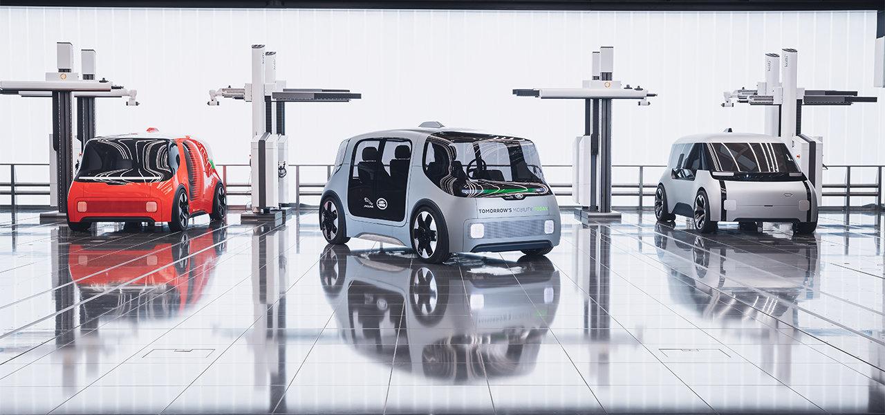 ジャガー・ランドローバーの描く未来を示すEVコンセプト Jaguar & Land Rover
