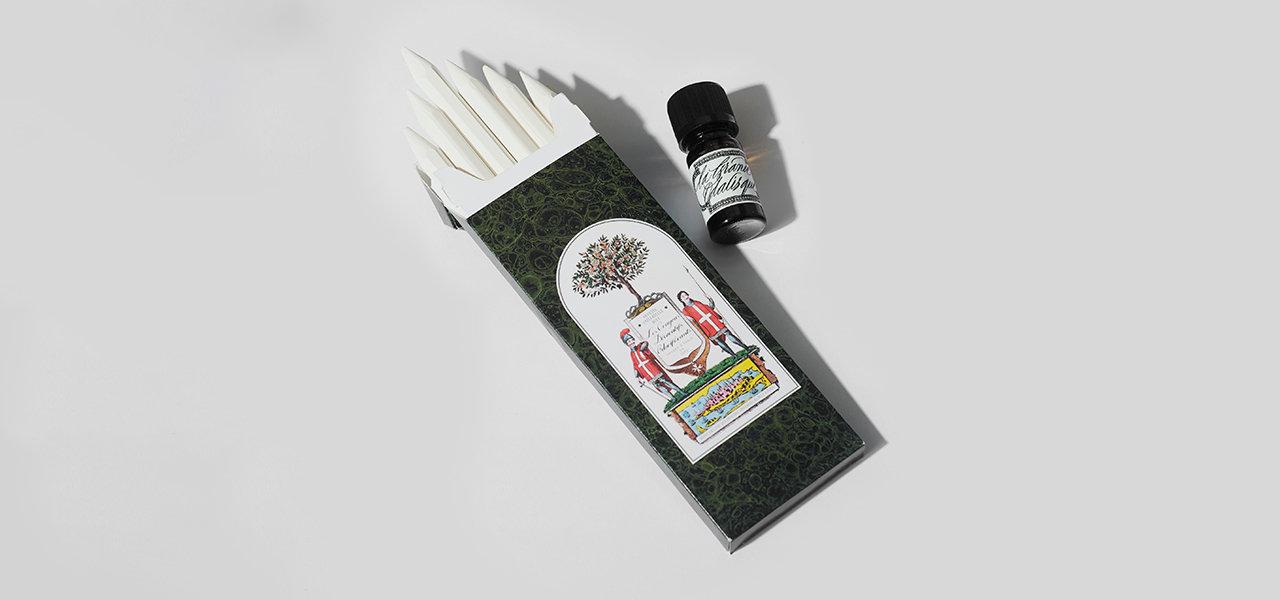 ビュリーが提案する新しい香りの形「クレヨン・オドリフェラン」|Officine Universelle Buly