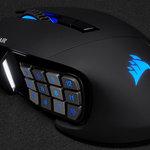 高性能ゲーミングマウス SCIMITAR RGB ELITE Corsair