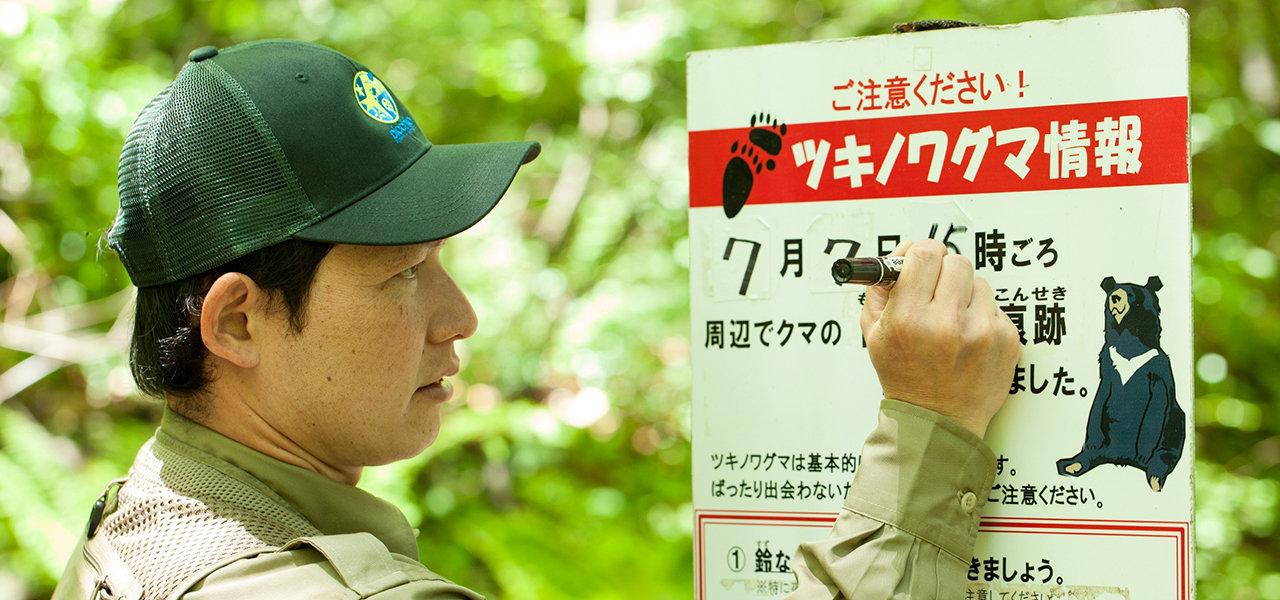 ヒトとクマの共生を目指しツキノワグマ保護管理に取り組む|NPO法人「ピッキオ」