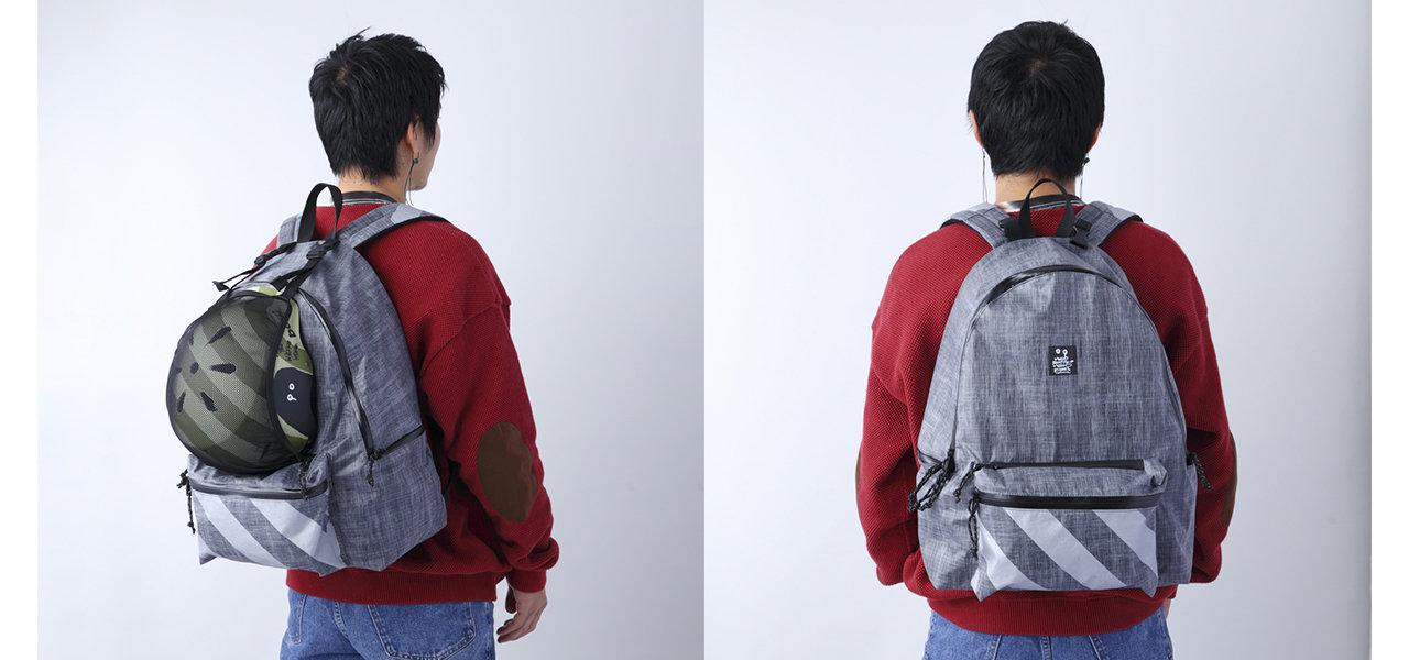 アーティスト・神山隆二のアートワークをミックスさせた軽量素材のバックパック|bern