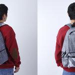 アーティスト・神山隆二のアートワークをミックスさせた軽量素材のバックパック bern