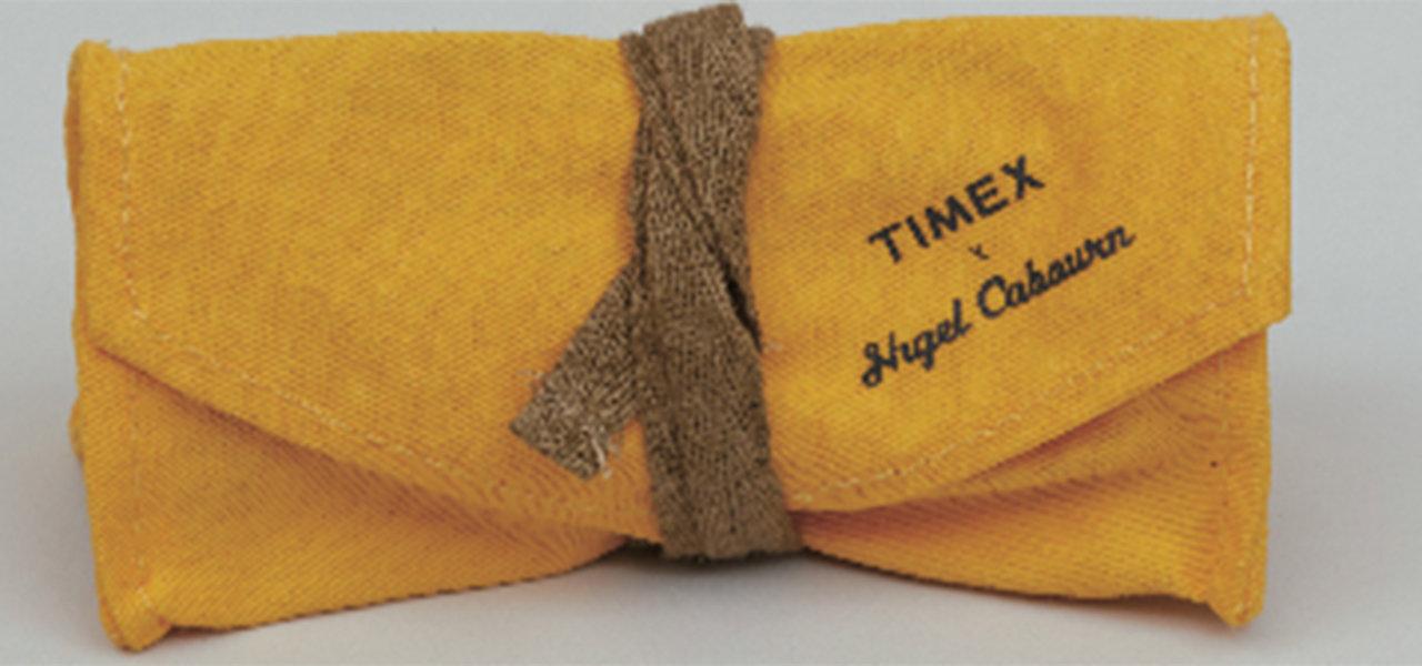 ナイジェル・ケーボンとタイメックスによるコラボレート第3弾 Nigel Cabourn×TIMEX