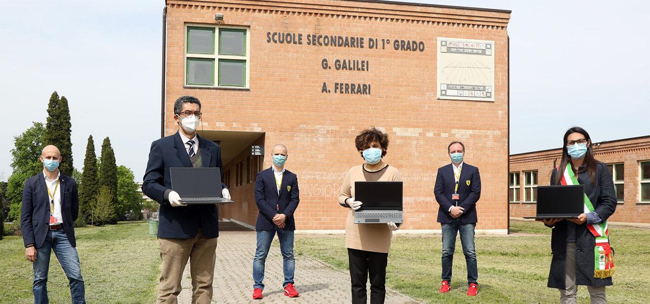 新型コロナウイルスの影響を受け、地域社会を支援するためフェラーリ幹部が報酬を寄付|Ferrari