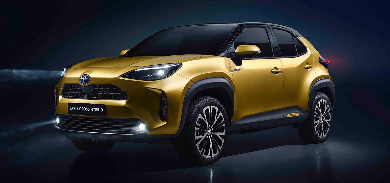 トヨタ、新型SUV「ヤリス クロス」を世界初公開|TOYOTA