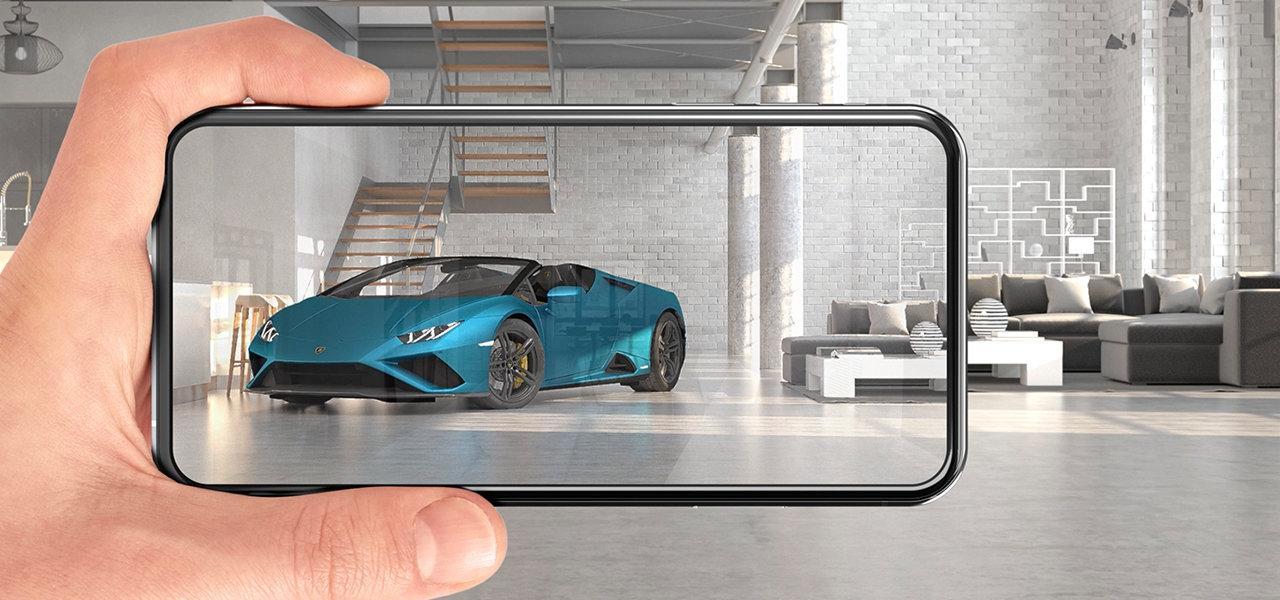 ランボルギーニ がAR(拡張現実)を使った「ウラカンEVO RWDスパイダー」発表会を開催 Lamborghini