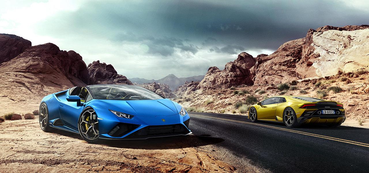 ランボルギーニの最新モデル、ウラカンEVO RWDスパイダー続報|Lamborghini