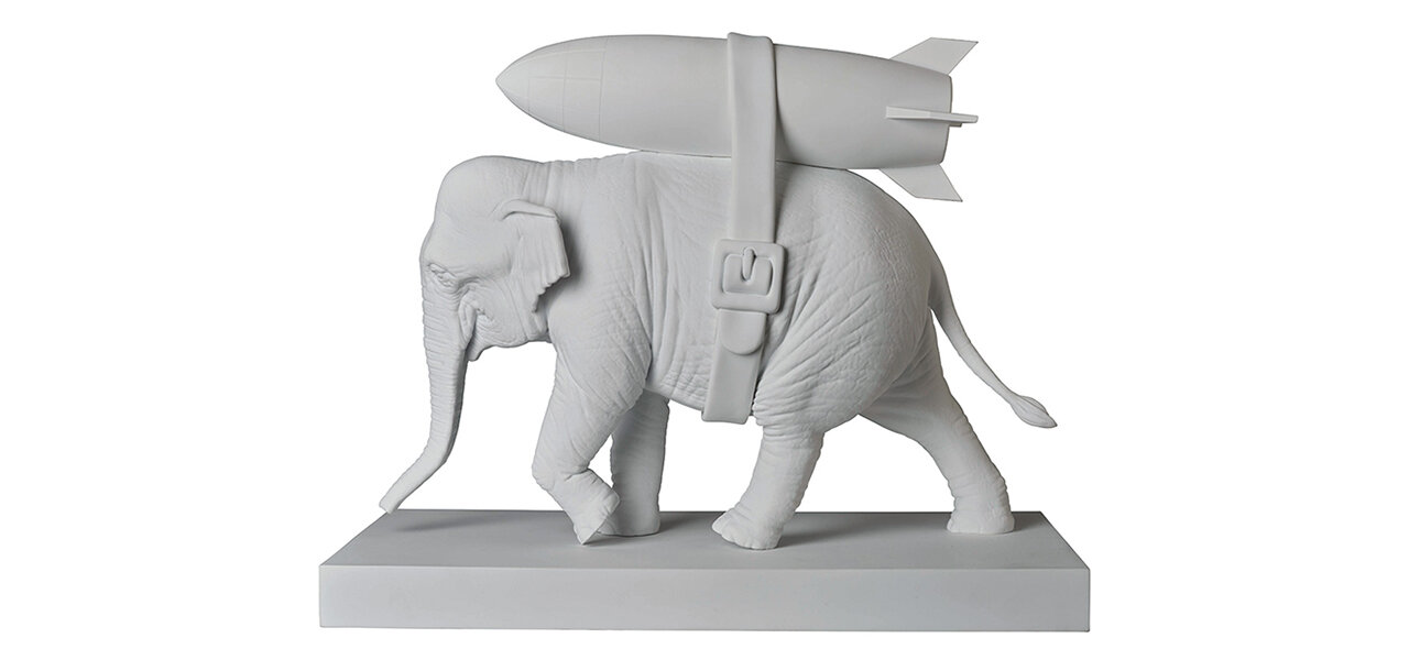 Elephant with Bomb|MEDICOM TOY
