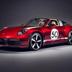 ポルシェ911タルガ4Sに伝統に敬意を表したポルシェ初のヘリテージデザインモデル|Porsche