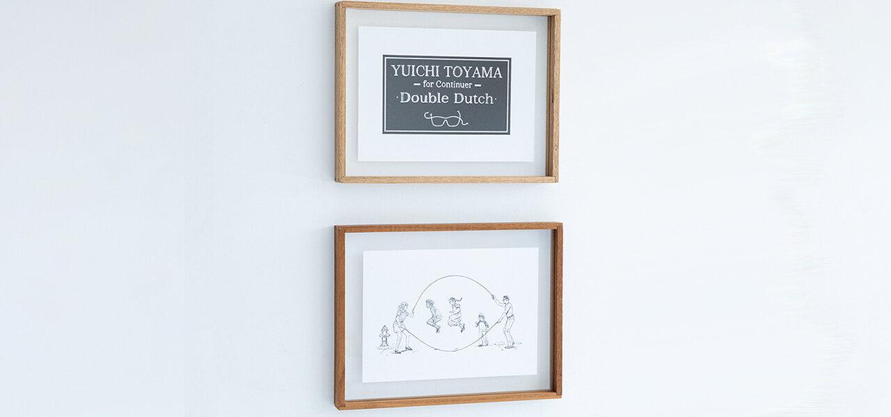 アイウエアブランド「YUICHI TOYAMA. 」とのカプセルコレクションを発表|Continuer