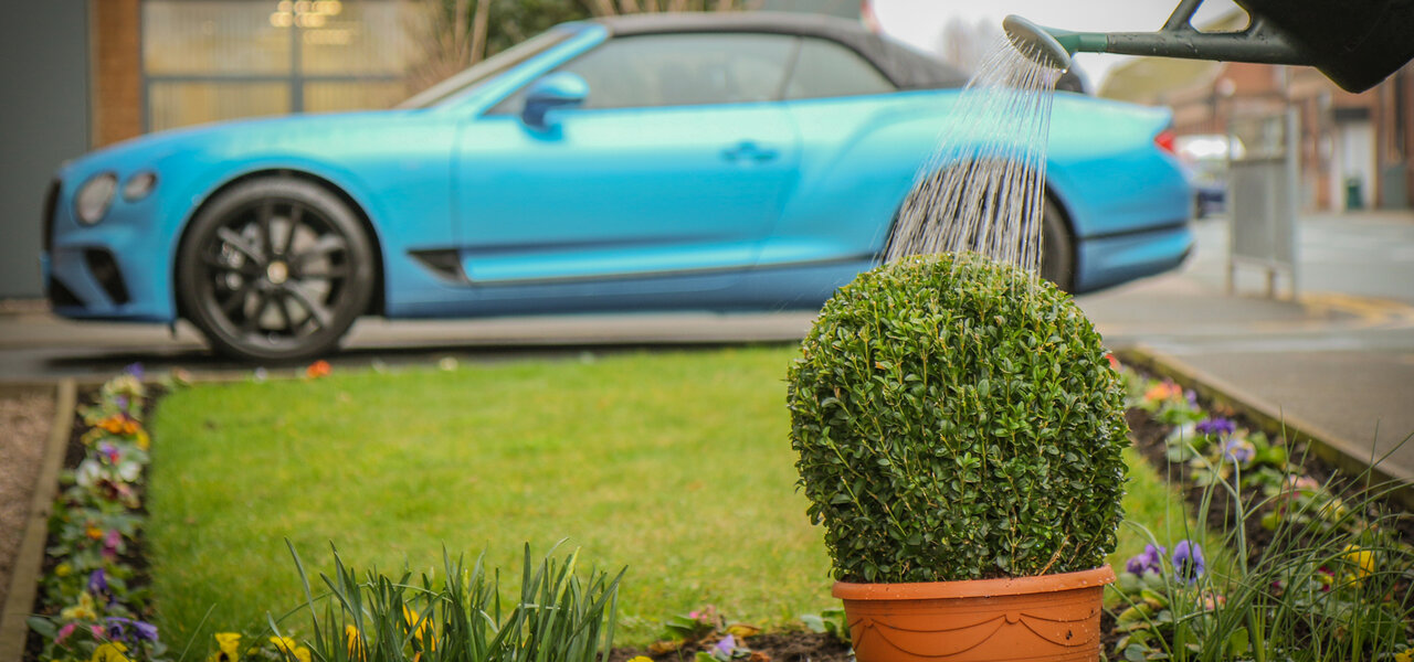 ベントレーの英国本社で新たな水リサイクルシステムを導入 Bentley