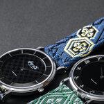 「和心 畳」。畳縁をバンドに仕上げたメイドインジャパンの腕時計|WATCH