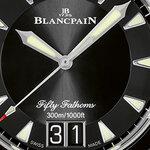 ブランパンの「フィフティ ファゾムスラージデイト」がチタン製ブレスレットで登場|BLANCPAIN