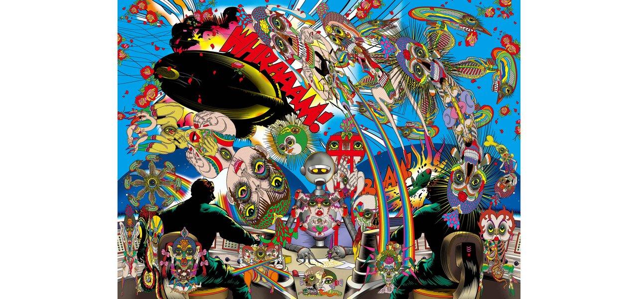 新作個展「記憶の修築」開催記念 アーティスト・田名網敬一氏インタビュー|MEDICOM TOY