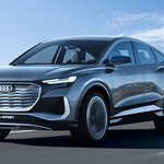 アウディ が2021年に生産を開始する電動SUVクーペ「Q4 スポーツバックe-tronコンセプト」を発表|Audi