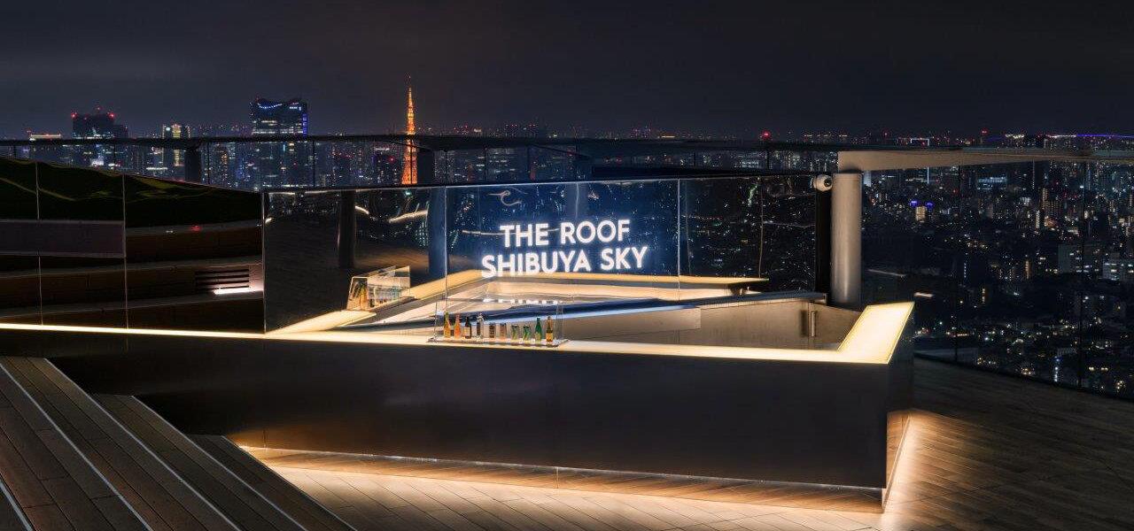 """圧倒的な""""開放感""""を楽しむ渋谷最高峰のルーフトップバー THE ROOF SHIBUYA SKY"""