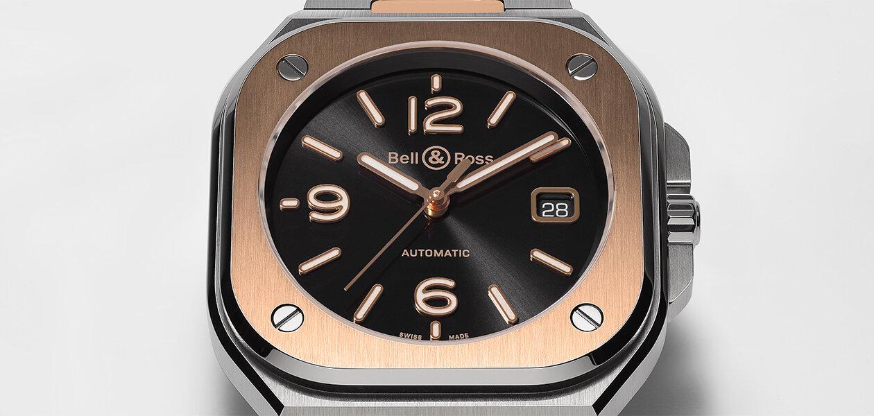 黒×金のスマートスタイル「BR 05 ブラック スティール&ゴールド」|Bell & Ross
