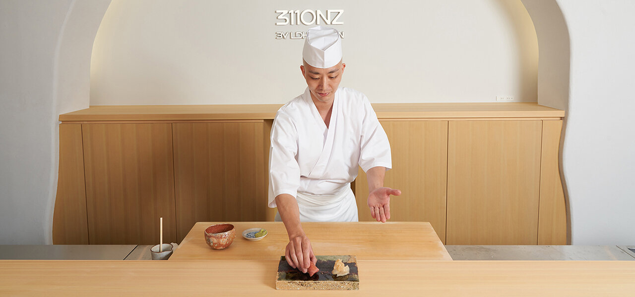 アートギャラリー併設の鮨レストラン「3110NZ by LDH Kitchen」がオープン|EAT