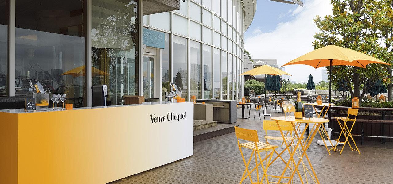 ヴーヴ·クリコがヒルトン東京お台場とコラボレーションを開催中|Veuve Clicquot