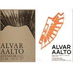 かつて開催された主要な建築展のポスターがオリジナルサイズで複製|Alvar Aalto Foundation