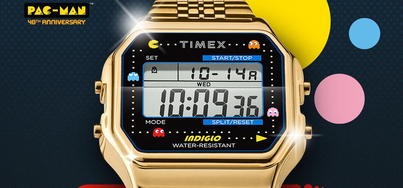 「パックマン」40周年記念! タイメックスとのコラボレーションウオッチ登場|TIMEX