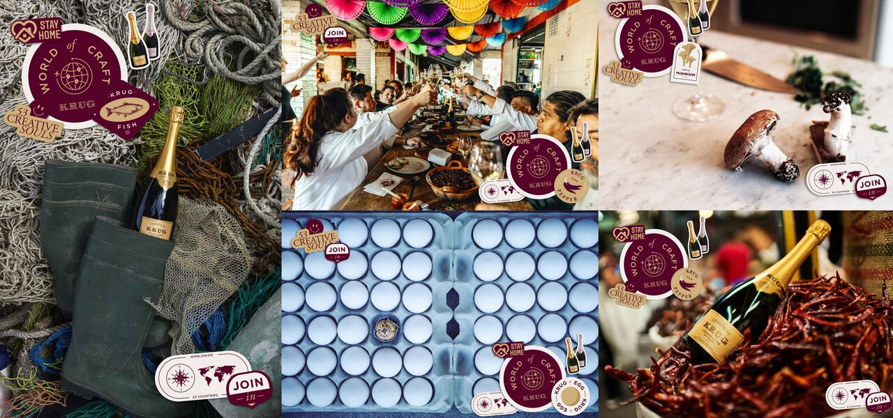 クリュッグと加山賢太シェフが贈る4日間限定の「WORLD OF CRAFT DINNER」|Krug