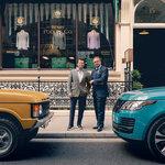 レンジローバーの50周年を記念し、サヴィル・ロウの老舗テーラーとファブリックを製作|Range Rover