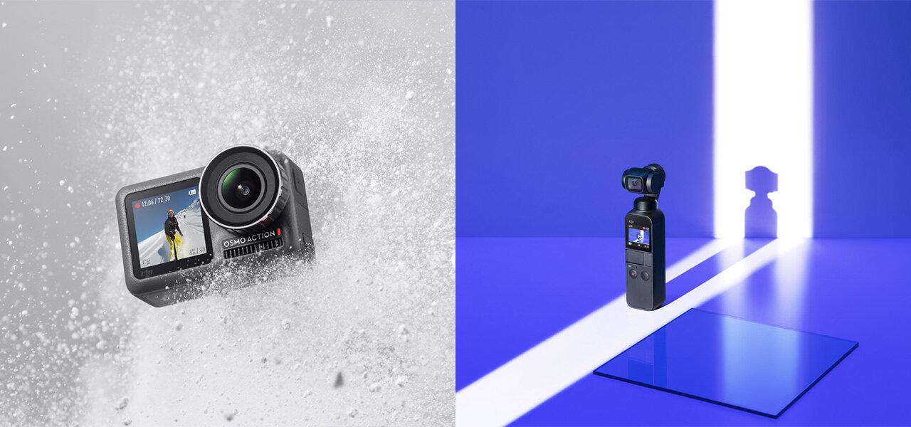 あらゆるシーンを美しく収める。DJIの手持ちカメラシリーズ|DJI