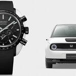 セイコーアストロンと電気自動車Honda e のコラボレーションウオッチ|SEIKO