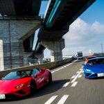 タウンスピードでも楽しい──ランボルギーニ ウラカンEVOの後輪駆動モデルに公道試乗|Lamborghini