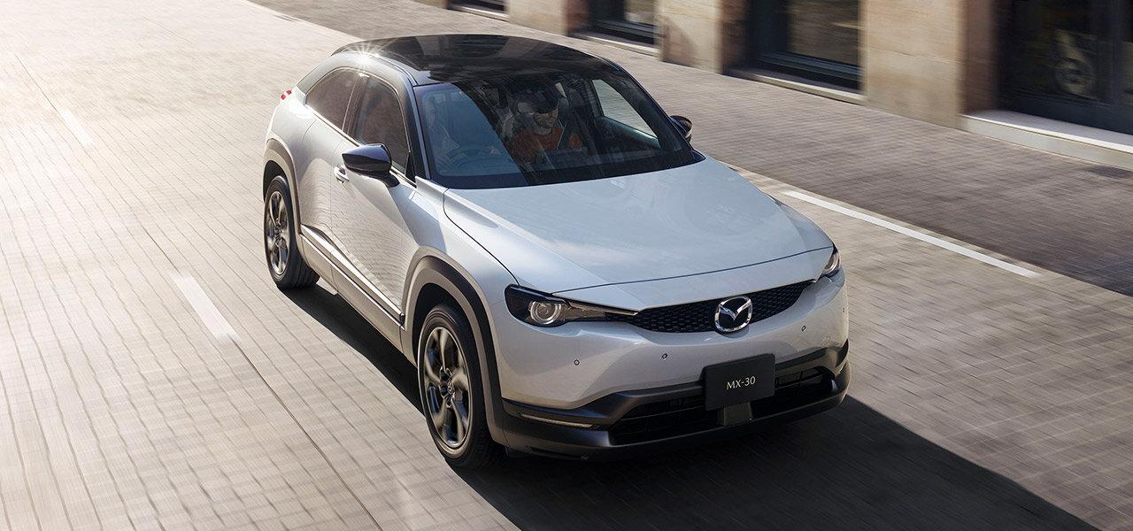 マツダ、新型クロスオーバーSUV「MX-30」を発表|Mazda