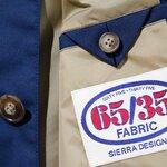 65/35生地を使ったコーチジャケットとステンカラーコートが登場|SIERRA DESIGNS