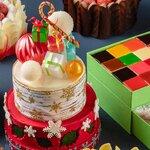 おうちクリスマスを盛り上げるカラフルでハッピーなクリスマスケーキ|GRAND HYATT TOKYO