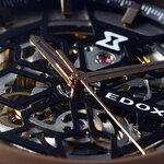 砂時計をモチーフにしたカットワークで魅せる「デルフィン メカノ オートマティック」|EDOX