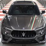 イタリア国旗に敬意を表した5台限定のレヴァンテ トロフェオ|Maserati