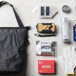クーラーバッグとしても使用可能。緊急時に持ち運べる防災バッグが登場|amabro